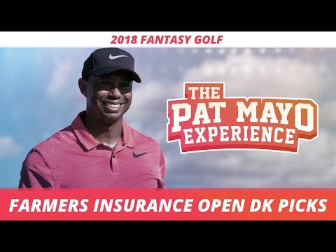 2018 Fantasy Golf Picks - Farmers Insurance Open DraftKings Picks, Sleepers and Preview