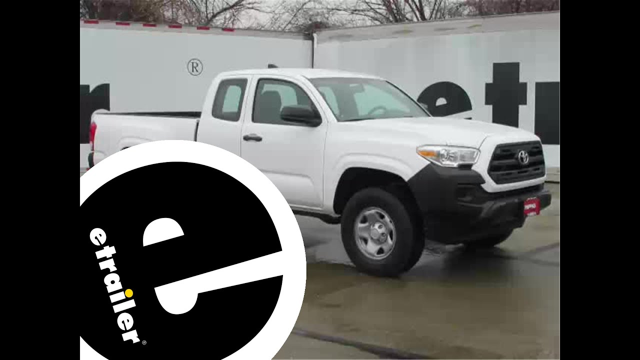 maxresdefault installation of a trailer hitch on a 2016 toyota tacoma etrailer 2016 toyota tacoma trailer wiring harness at soozxer.org