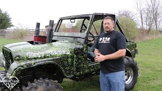"GREG SHARP'S ""DIRTY PLEASURE"" NASTY SBC STUFFED IN A JEEP CJ5"