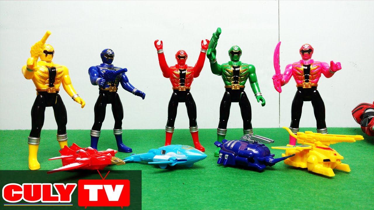 5 anh em Siêu Nhân Hải Tặc Kaizoku Sentai Gokaiger đồ chơi trẻ em
