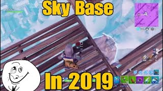 *Sky Base In 2019* Fortnite Victory Royale LTM Catch