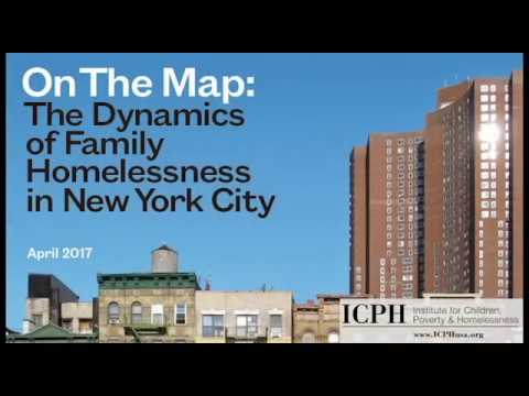 Launch Event: The Dynamics of Family Homelessness in New York City