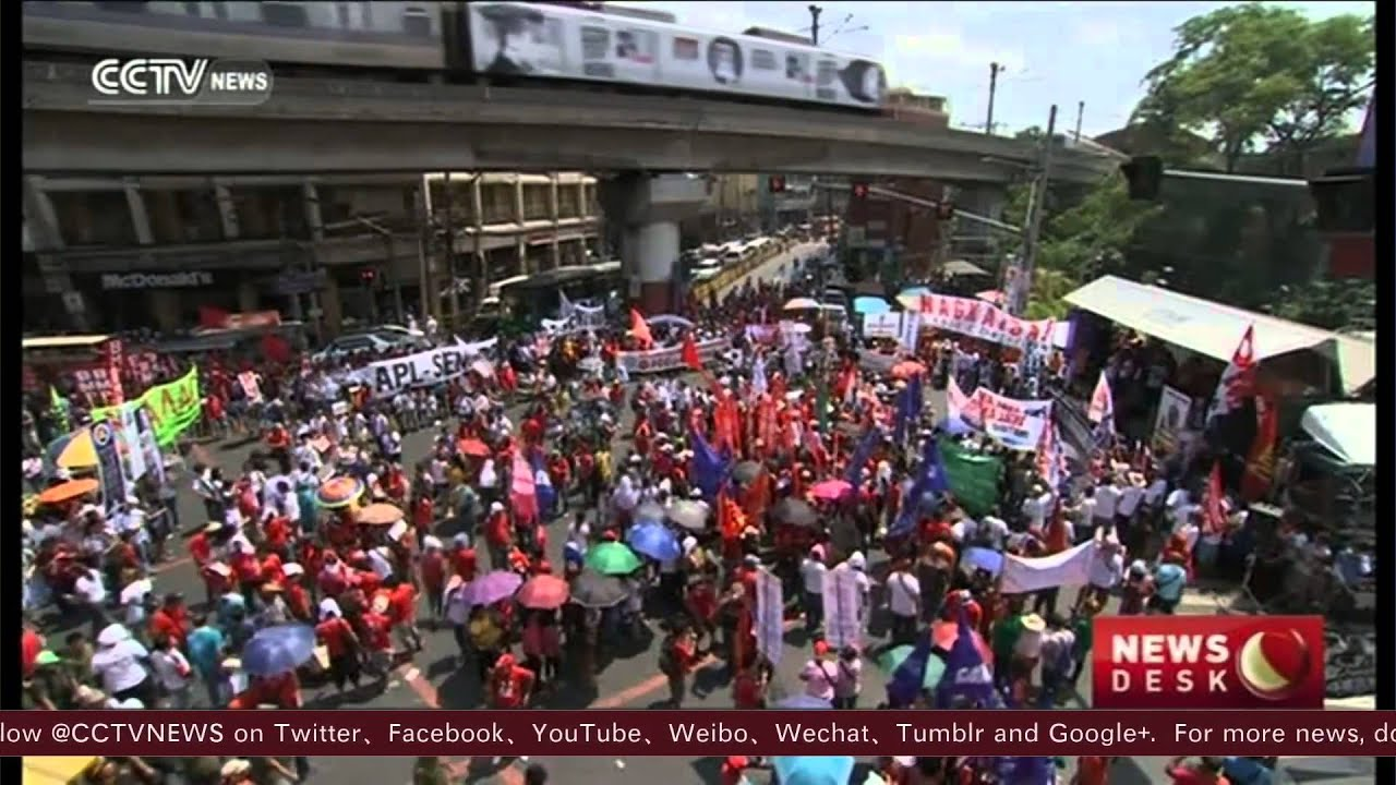 May Day Marchers Around The World Celebrate Workers, Immigrants