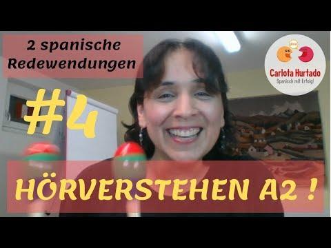 HÖRVERSTEHEN MITTE A2 - #4:  💥2 SPANISCHE REDEWENDUNGEN💥