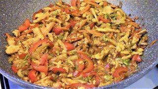 Филе птицы с соусом Карри от Сэн Сой готовится легко, быстро и получается очень вкусно!