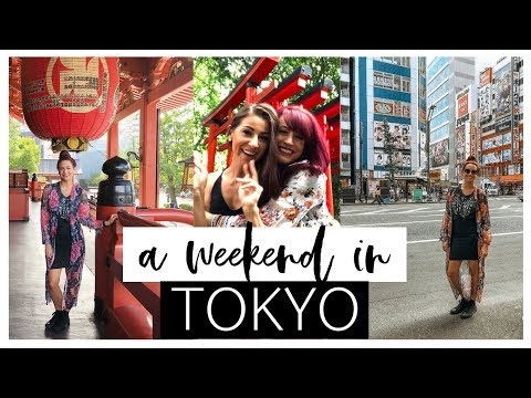 A WEEKEND IN TOKYO | Travel With Me VLOG