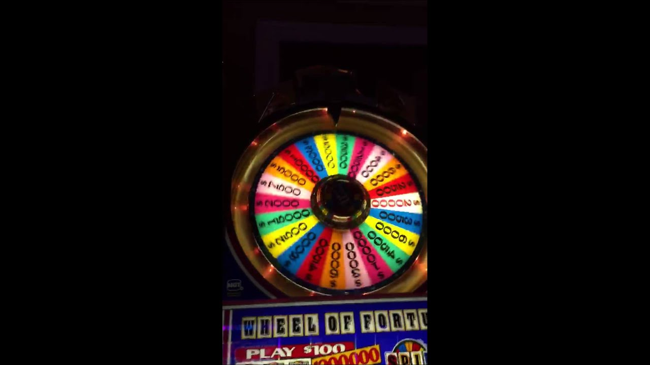 $100 wheel of fortune slot machine jackpots videos infantiles