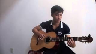 """Guitar solo: """" Em Đã yêu Một Người """"- Bi Nghệ Sĩ"""