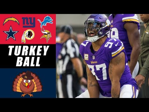 Thanksgiving Football Predictions