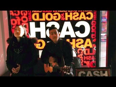 Christmas carols for Dalaw Kalinga at cash for gold in Toronto