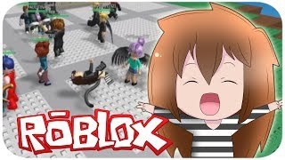 I MAKE BREAK DANCE IN PUBLIC ? NATURAL DISASTER ROBLOX ENGLISH ? SRTALULY