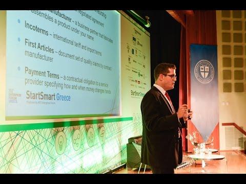 StartSmart Greece 2015: Presentation by Alfonso (AJ) Perez