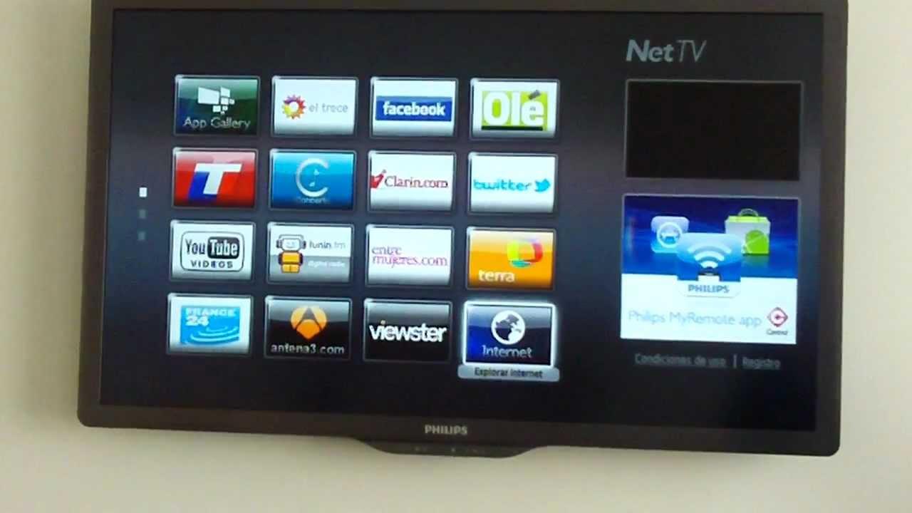 Demostración Del Televisor Smart Tv De Philips Parte 1 Youtube