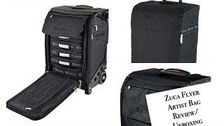 Zuca Flyer Artist Bag Unboxing/Review   MdeiziMakeup