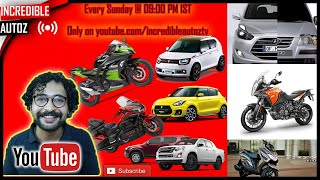 Exciting Cars and Bike's News and Live Q and A   Incredible Autoz   #askjaydee