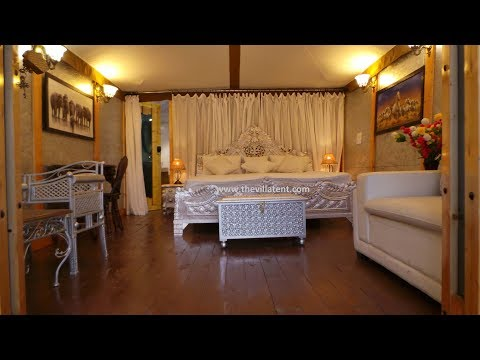 Ultra-Luxury Wild Paradise Resort Tent | Semi-Permanent Luxurious Tent Manufacturer