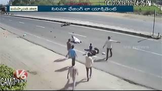 Caught On Camera: Speeding Mini Truck Hits Two Wheeler In Gujarat. ...