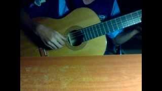 chờ ngày mưa tan guitar solo