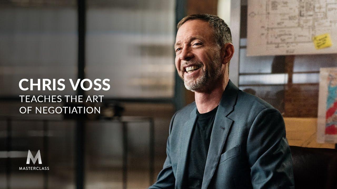 Chris Voss teaches you communication skills