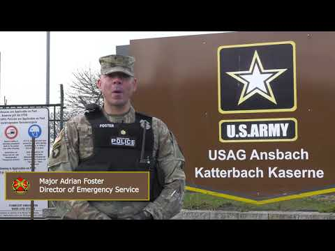 USAG Ansbach Director Of Emergency Services