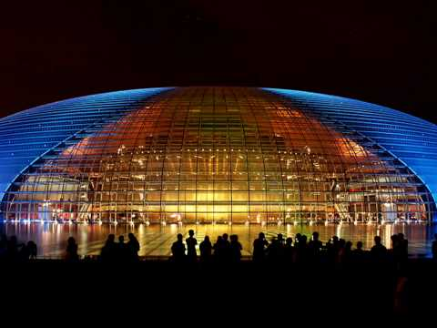 The National Center for the Performing Arts, Beijing, China