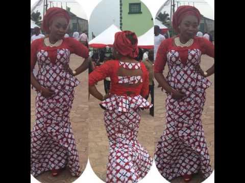 Nigeria Aso Ebi Dresses : Classical Aso Ebi  Styles Creative Collection