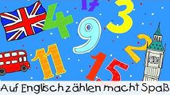 Auf Englisch zählen macht Spaß || Kinderlieder zum Lernen