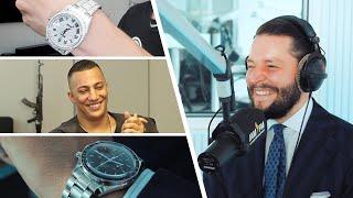 Marc Gebauer über Iced Out, Einsteiger Uhren und die Patek Philippe Nautilus ⚡ JAM FM