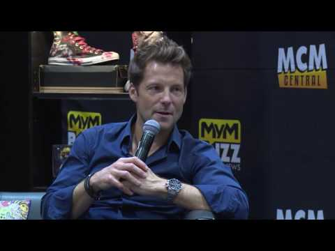 Jamie Bamber Interview @ MCM Comic Con – Battlestar Galactica, Law & Order UK, Fearless