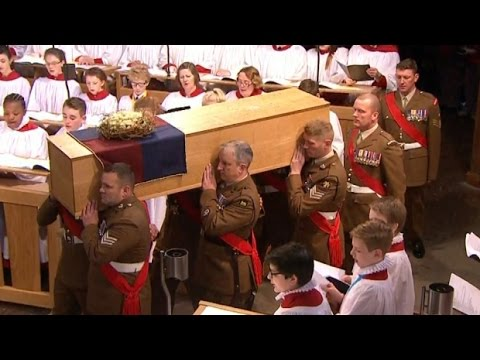 King Richard III burial highlights