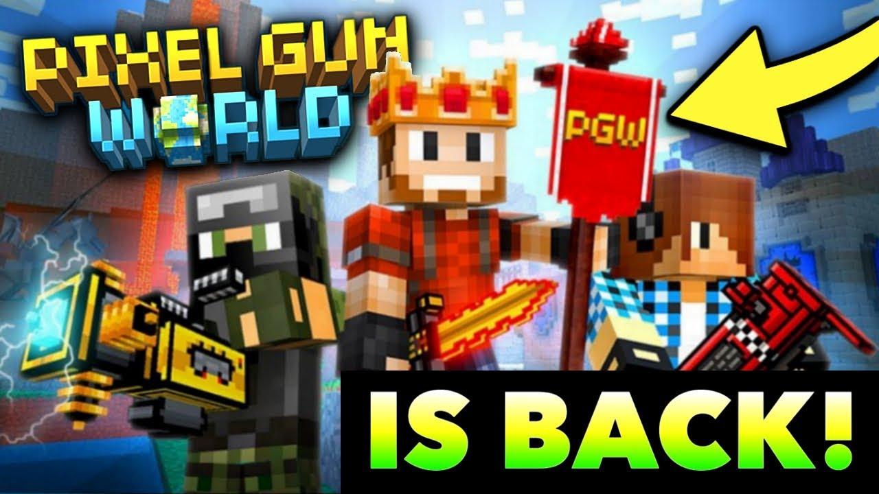 pixel gun world login
