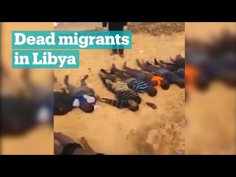 74 dead migrants wash up in Libya