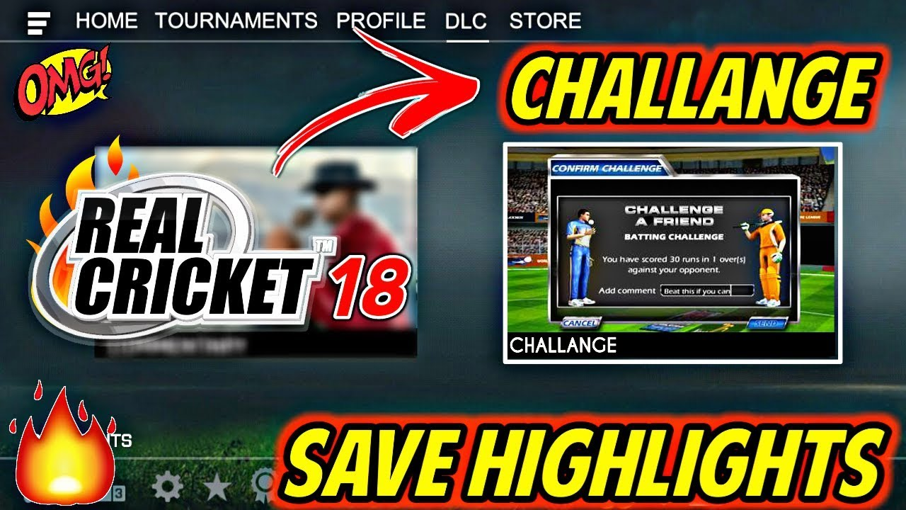 Real cricket 18 mod apk android 1 1 | Real Cricket 18 1 3