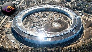 НЕВЕРОЯТНАЯ штаб квартира Apple за 5 миллиардов долларов