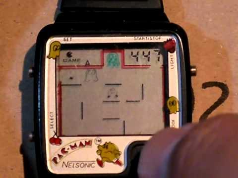 Nelsonic Pac-man で遊んでみた
