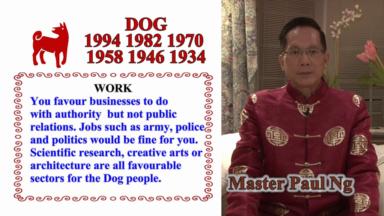 Master Paul Ng, 2017 Predictions, Dog