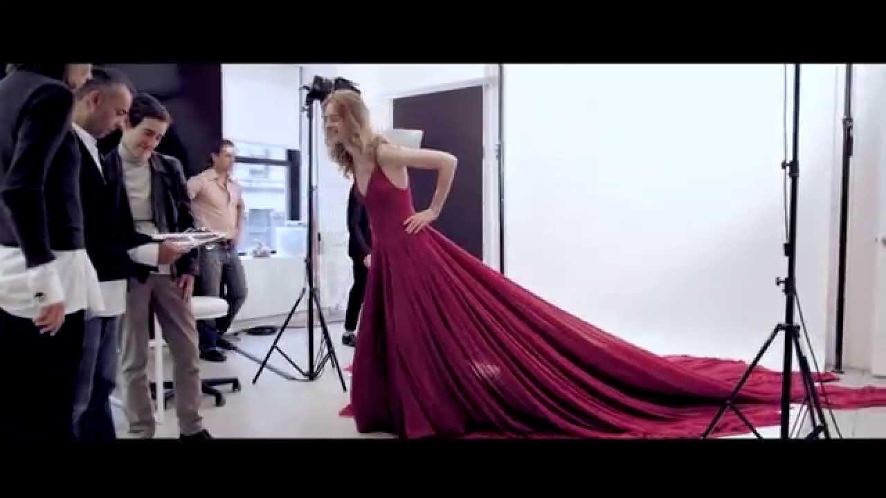 Making of the Dress: euphoria Fall 2015 - YouTube