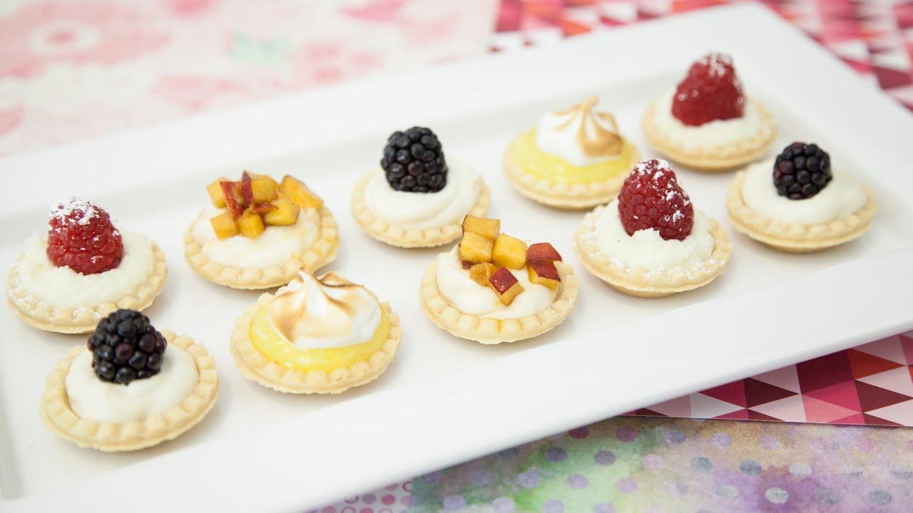 no bake mini cheesecake tarts