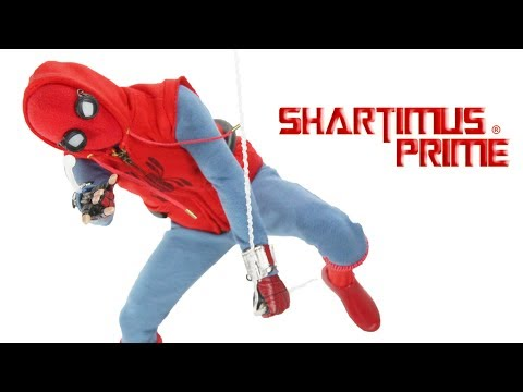 Hot Toys Homemade Suit Spider Man Homecoming 1:6 Scale Collectible Marvel Action Figure Review