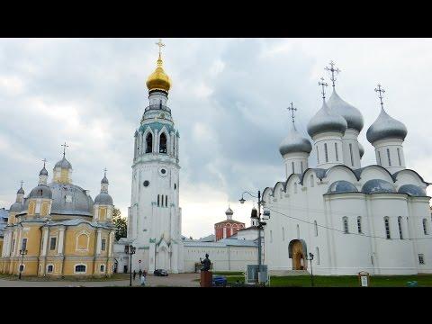Фрагменты экскурсии по Вологде 19 сентября 2014 года.Золотое кольцо России.