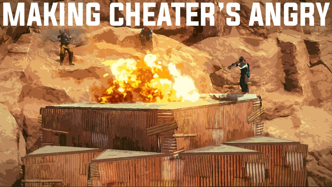 INFILTRATING A COMPOUND of A CHEATING CLAN -  Rust