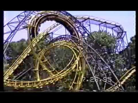 Busch Gardens Williamsburg Va In 1995 Youtube
