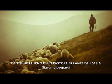 Canto Notturno di un Pastore Errante dell'Asia di Giacomo Leopardi _ Lettura di Andrea Chimenti