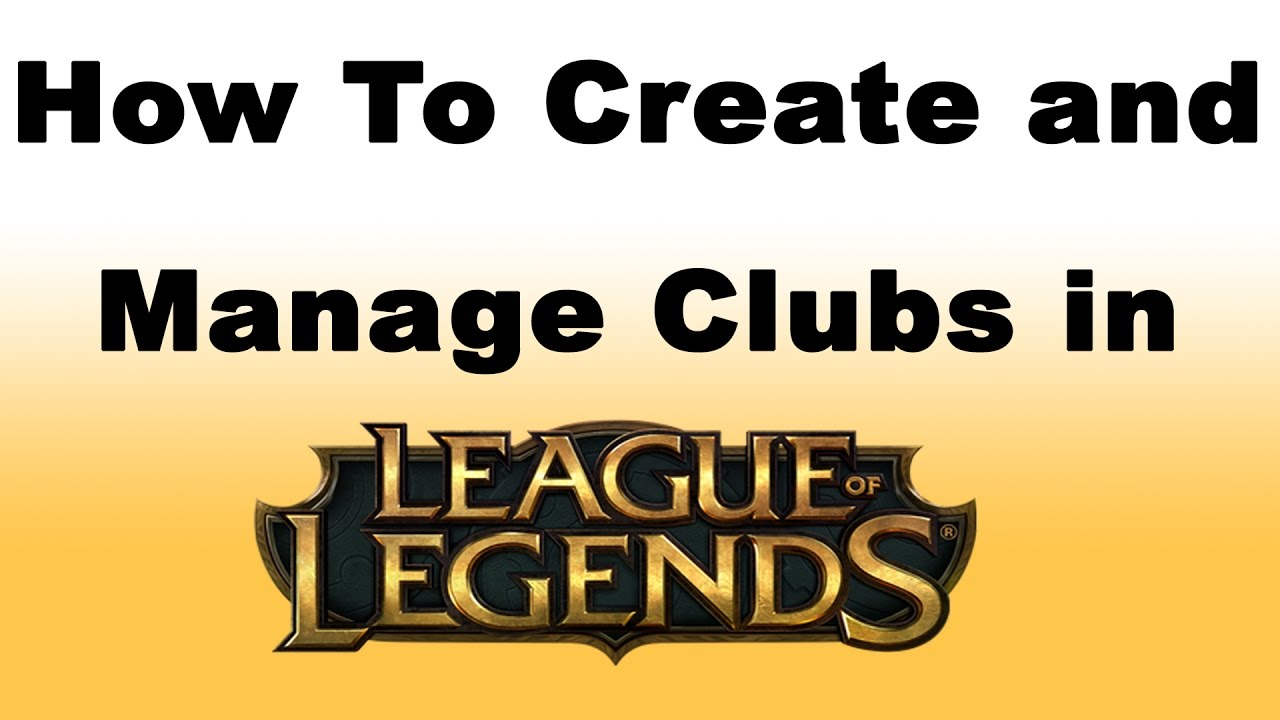 set club tag league of legends