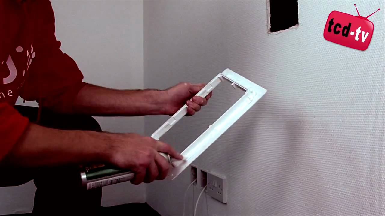 Bathroom plumbing access panel - Hinged Access Panels How To Install A Plastic Access Panel Hinged