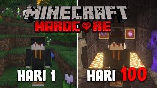 100 Hari di Minecraft Hardcore dan Ini Yang Terjadi..