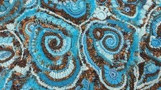 ФРИФОРМ : БЛОКСТОЛБИКИ -- мастерская Ирины Кузнецовой / FREEFORM --KNITTING / Crochet Freeform / 钩边