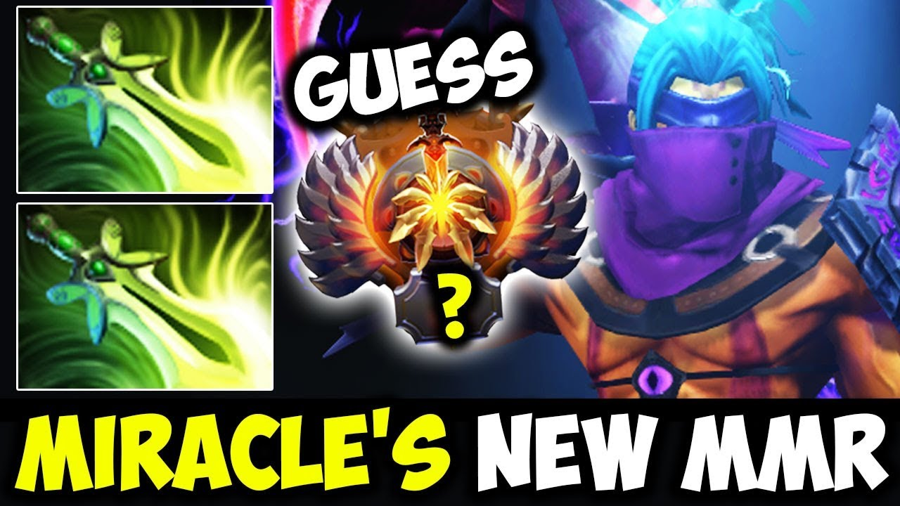 Miracle  Antimage  With 2x ButterFly - Guess New Season MMR Dota 2 ... 8f938ce9a7c17
