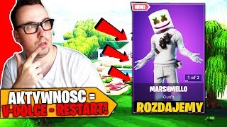 WE GIVE AWAY MARSHMELLO SKIN * FREE V-DOLCE * | FORTNITE BATTLE ROYALE