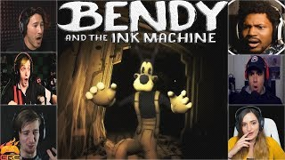gamers reactions to boris being taken away by alice ending   bendy and the ink machine chapter 3